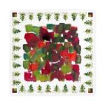 marinas xmas cloth napkin I