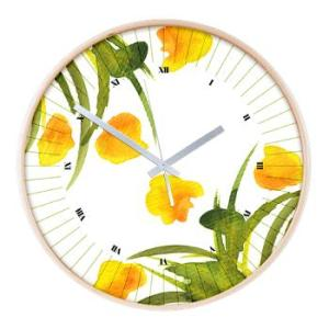 atom_flowers_34_wall_clock