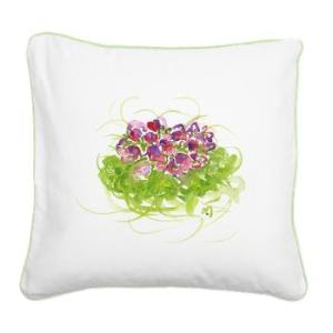 atom_flowers_36_square_canvas_pillow