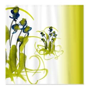 atom_flowers_3_shower_curtain