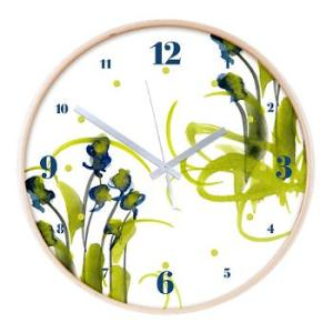 atom_flowers_3_wall_clock