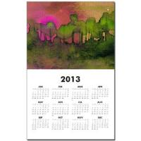 the_woods_ii_magenta_calendar_print-1