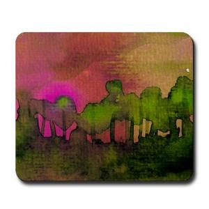 the_woods_ii_magenta_mousepad