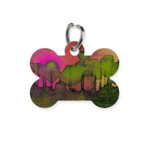 the_woods_ii_magenta_pet_tag-2