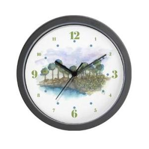 trees_by_the_sea_2_wall_clock-1