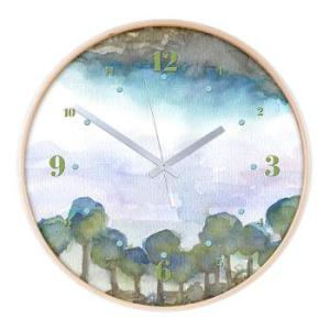 trees_by_the_sea_2_wall_clock