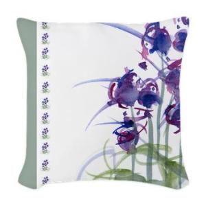 atom_flowers_39_woven_throw_pillow