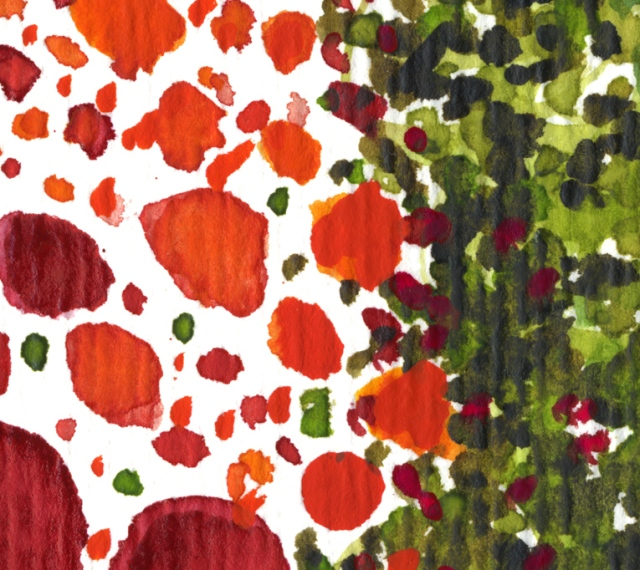 Paths of Color [red, orange and yellow] det3 ©Marina Kanavaki