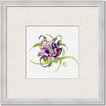 atom flowers 26 framed