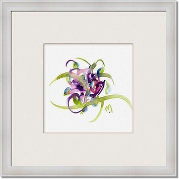 atom flowers 26 framed