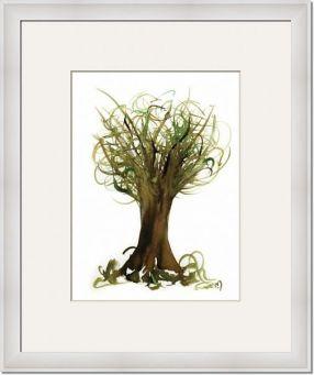 Fortune-Tree-No2_framed art
