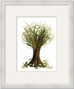 Fortune-Tree-No2_framed art