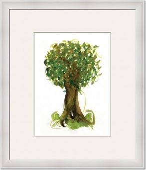 Fortune-Tree-No4_framed art