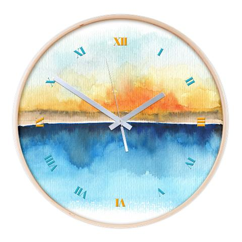 orange_rays_permeate_wall_clock-1