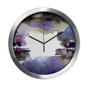 the_woods_v_modern_wall_clock