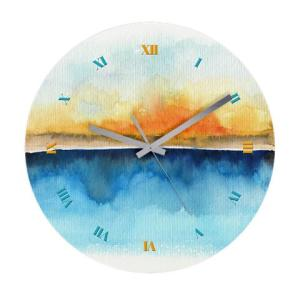 oorange_rays_permeate_wall_clock