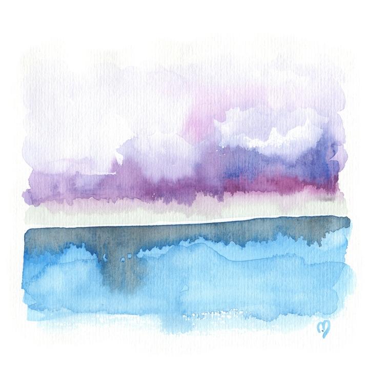 purple rays permeate©marina kanavaki