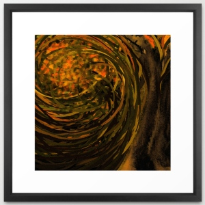 forest #4 framed art print
