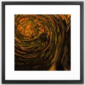 forest #4 framed art print