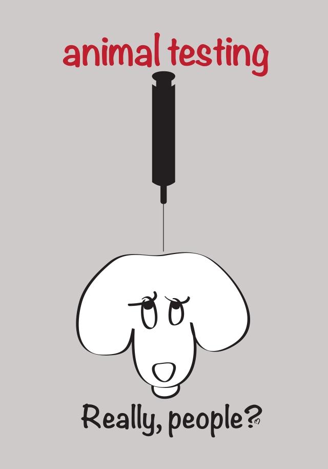 really people?animal testing©mk