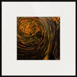 forest #4 framed print
