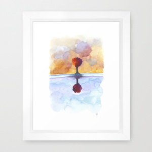 As Above So Below No15 framed print s6