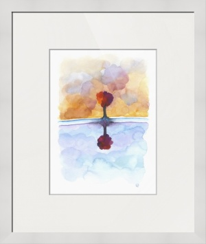 As Above So Below No15 framed print