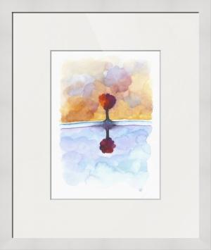 As Above So Below No15 framed print