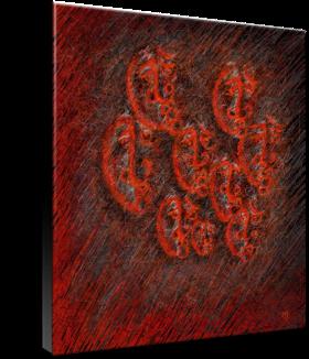 Haematite_art on canvas