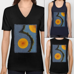 aquamarina-three-vneck-tshirts