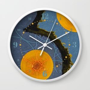aquamarina-three-wall-clocks