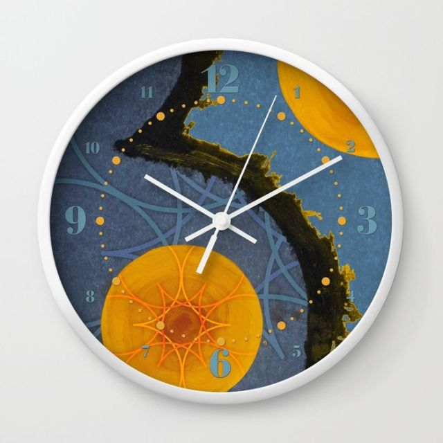 aquamarina-three-wall-clocks