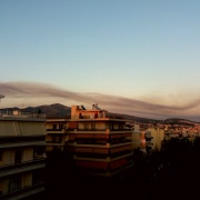 fires Athens August 2017
